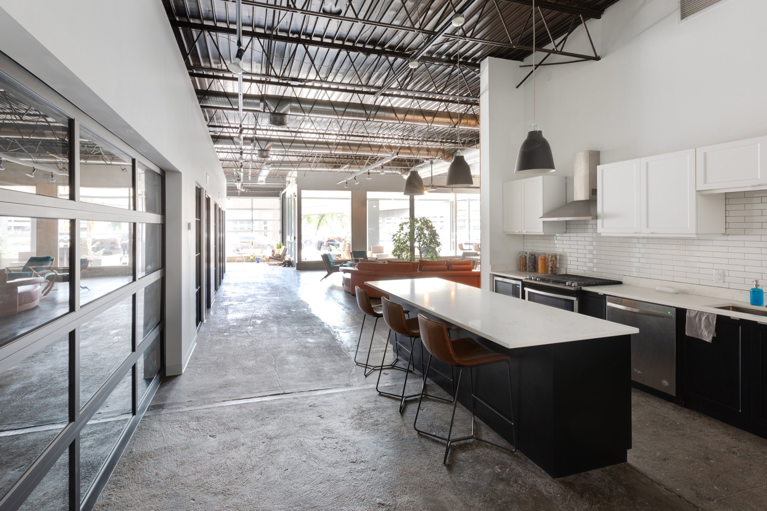 Kitchen space at BicMedia