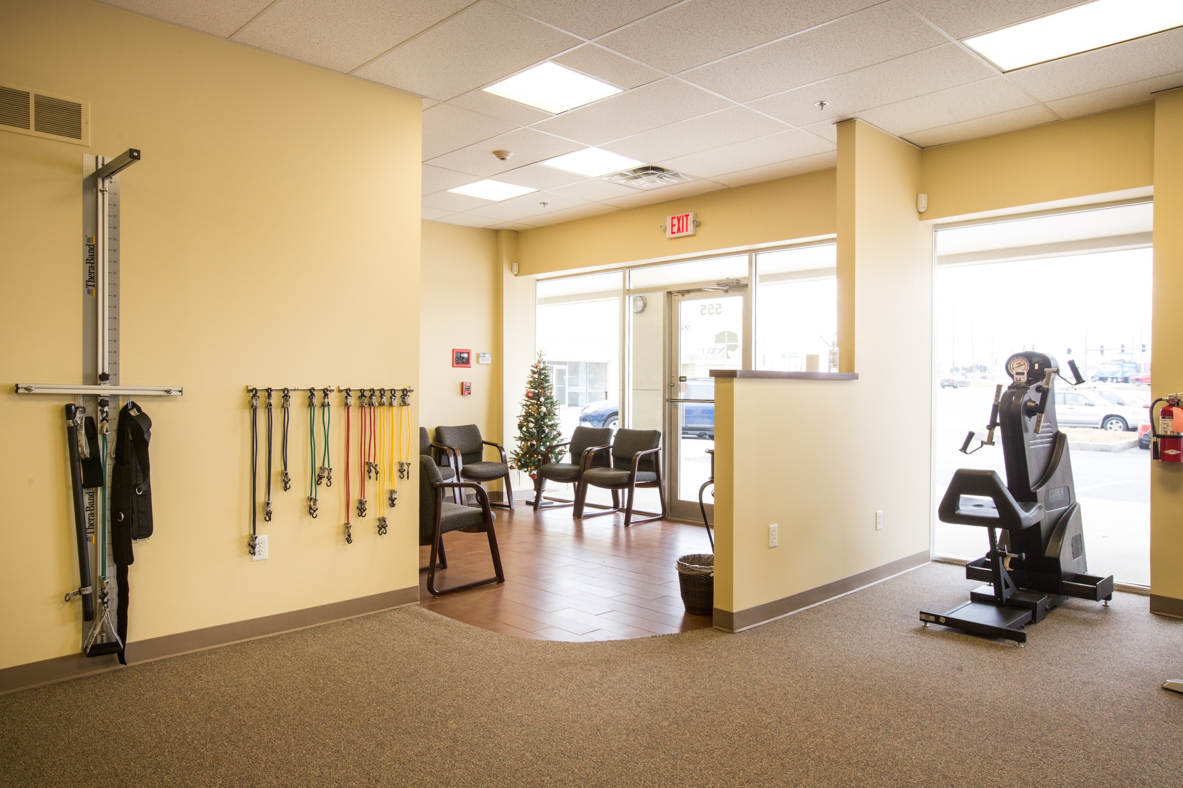 Waiting area at Select Physical Therapy