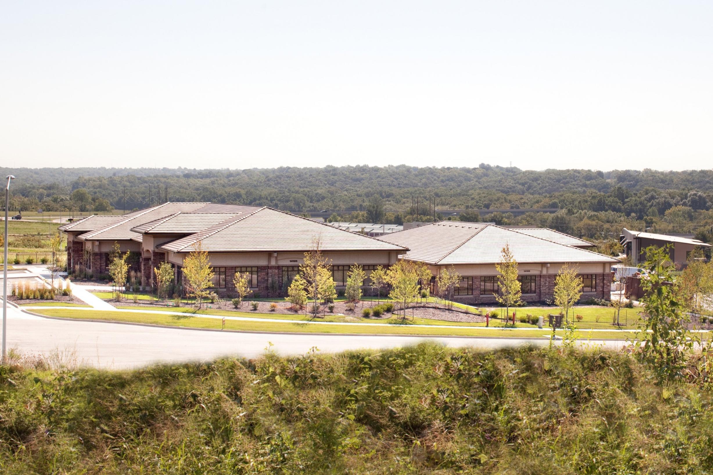 View of Centennial Park corporate office park