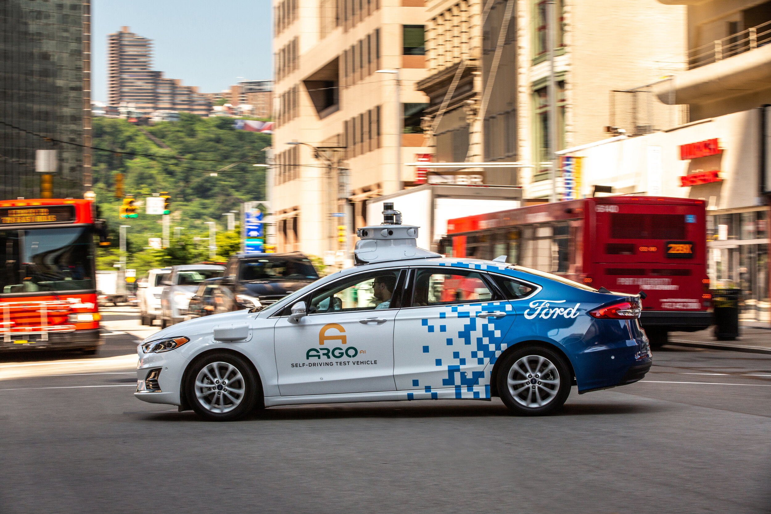 Pittsburgh is home to the world's first self-driving cars. It now has six companies with autonomous vehicles on the roads. -