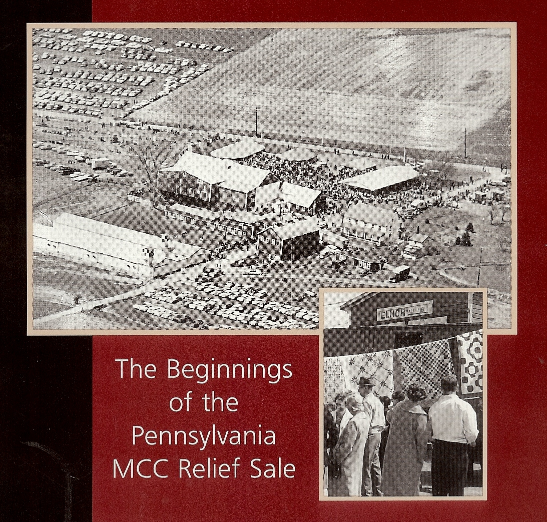 The Pennsylvania Relief Sale: 1957 - Present - It was Saturday, March 30, 1957 and a relief sale was ready to begin at the Ralph S. Hertzler farm home. The idea for a sale had started as a result of a minister having a conviction that something should be done for relief needs. Ford Berg, pastor of the Zion Mennonite Church near Morgantown, proposed to his church council that if each member of the Mennonite churches in the area would give $10, a substantial offering could be given to Mennonite Central Committee (MCC), an organization known for their relief work throughout the world.Several churches could not offer that amount, but suggested contributing items for a relief sale. Enthusiasm for this idea grew and a committee formed to hold a sale. Their goal was $2,000 – and the proceeds of the first sale were $4,500. They were on to something!The following year, a meeting was held to more clearly define the sale and elect officers. The name Tri-County Relief Committee for MCC was born – referring to the counties of the founding organizers: Berks, Chester, and Lancaster.Five years later, the sale was attracting 1,000 buyers coming not only from the local area but also New York, New Jersey, and Maryland. The proceeds from that sale were $5,600. The most spirited bidding came from the sale of handmade quilts. By the sixth year sale, buyers were coming from Virginia and Delaware.Sale organizers would often meet over dinner, and an idea came about to hold a fundraising dinner to help cover the operating costs of the sale. The first dinner took place in 1968, and these dinners have been occurring each year since. Today, two banquets are held annually and both help to defray operating costs.By the 8th year, the Hertzler farm was not big enough to hold the sale. For the next few years, the sale took place at Twin Slope Markets in Morgantown. The first sale there in 1969 raised $34,400. But challenges arose between operating the sale and other businesses at the market.It was decided to look at the Farm Show building in Harrisburg as a location. Then Pennsylvania Governor Milton Shapp wrote a letter inviting the committee to consider this option. He and his wife had attended the relief sales and loved the strawberry pies. The first sale in Harrisburg took place in March 1976 and netted $91,000. The sale was renamed: Pennsylvania Relief Sale.Over the years, the sale grew to include new ideas and events to expand fundraising:A hay and straw auction began in 1979. By 1981, heifers were added to the event and today, the Heifer Sale is held each spring in the New Holland Sales Stables. This sale has raised $2 million for MCC.In the late 1980s, people from the building industry proposed building Houses Against Hunger. The houses were built in Franklin, Cumberland, and Lancaster counties, which raised funds of approximately $1.8 million for MCC. The last one was built in 2004 and the houses were sold without debt.In the early 1990s, John Hostetler proposed an idea to collect coins. It was named Penny Power. It became a popular way for children to get involved by collecting coins throughout the year. The coins are taken to the sale for counting, sorting, and depositing. There have also been matching gifts to Penny Power over the years – the current match is from the Donald B. and Dorothy L. Stabler Foundation for $50,000. Penny Power was renamed to My Coins Count in 2016. Each year, a significant amount of money is raised for MCC.When severe weather wreaked havoc in western Pennsylvania in 1977, Mennonite Disaster Services (MDS) sent hundreds of volunteers to help. Two brothers who owned a 160-acre dairy farm in Ebensburg were so impressed by this outreach from MDS (an affiliate of MCC) that they bequeathed their farm to support MCC. In 1999, the Thomas farm was formally transferred to the Pennsylvania Relief Sale with life tenancy arrangements for Art and Kermit. In September 2013, the Thomas farm was sold for $525,000 at a public auction. Today, the farm is in production of potatoes, corn, and small grains.Madeline Bender, an opera singer with a Mennonite background, started a fundraiser in 2009 for MCC's Global Family program. Each year, she invites performers to sing. The concert, Voices of Hope, brightened a winter evening each year through 2018. The event has raised more than $200,000.For several years (2011-2014), a group held a one-day festival at West Philadelphia Mennonite Fellowship, raising $87,642.After more than 60 years, one aspect continues to be the defining piece to the sale: the Quilt Auction. The Quilt Auction celebrates the work of numerous artists and needle workers. Quilters spend hours choosing patterns and fabric, piecing, appliqueing, embroidering, quilting, and finishing. The beauty and artistry of the quilts sold at the sale are unmatched. Hundreds of people attend the two-day live auction to bid on and buy the state's finest handcrafted quilts. Today, on average, more than 350 quilts are sold at the auction, raising well-over $100,000 annual for MCC.The history of the Pennsylvania Relief Sale is filled with pride and gratitude to all of the supporters and volunteers who gave generously of their time and resources each year. The two-day sale draws thousands of visitors from across the state and beyond. In addition to the Quilt Auction, visitors can also bid on and buy antiques, artisan goods, crafts, children's items, and more. Homemade food ranging from soups to strawberry pies is also available throughout the sale.The goal of the sale has always remained the same: to create a festive, family-friendly event that Celebrates Community and Creates Hope.