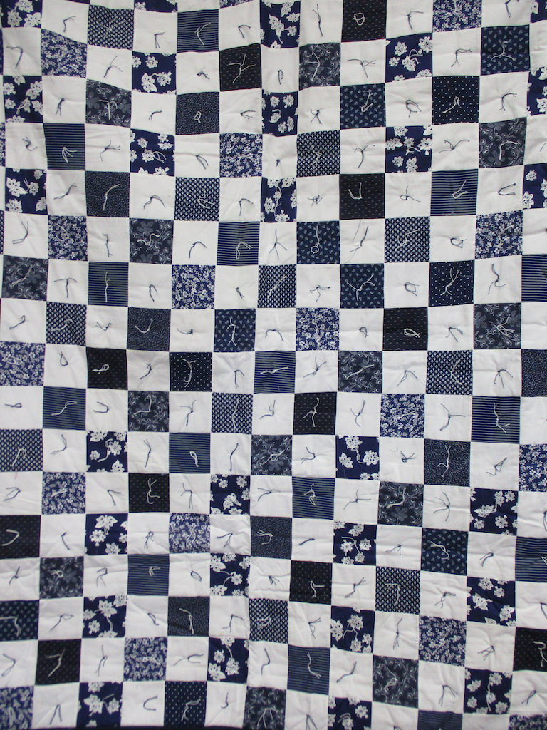 4, INDIGO COMFORTER, 56x69, Donated by Mary Previte