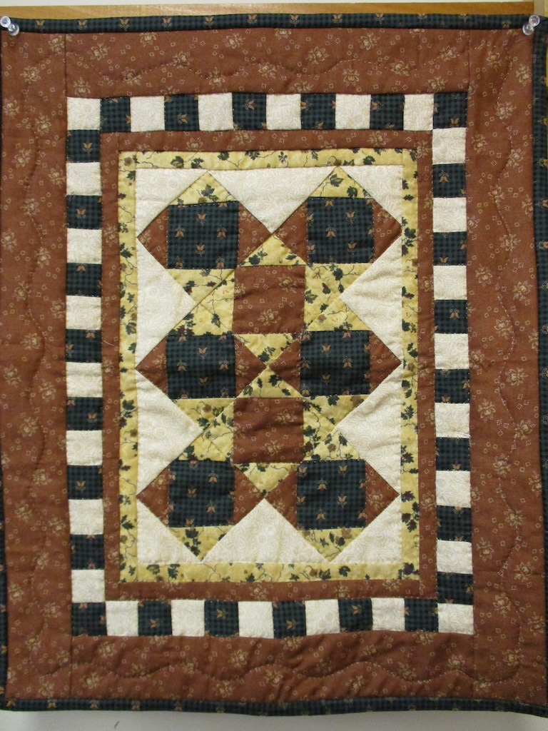 81, PATCHES FOR YOU (signed and dated), 16x20, Pieced by Susie DeVos, Quilted by Marie Eby, Donated by Cumberland Valley Relief