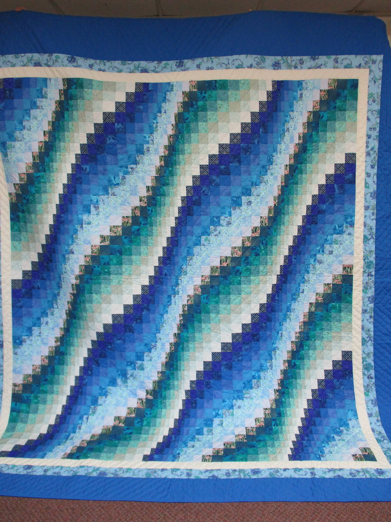 209, BARGELLO WAVE, 100x114, Donated by Joanne & Fred Stuebe