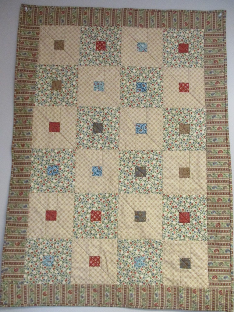 279, LOUISA (signed and dated), 26x36, Pieced by Sandi Layton, Quilted by Marie Eby