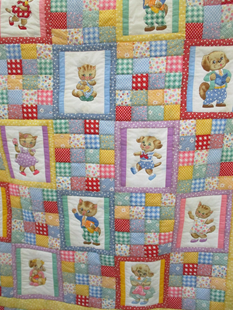 339, PENNY'S PALS (signed and dated), 50x57, Pieced and Quilted by Nancy Cordell