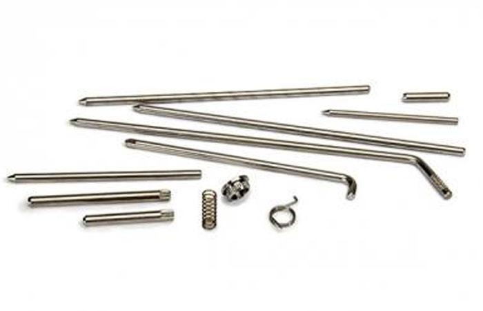 NanukAcier inoxydable 304 - La quincaillerie trouvée sur toutes les mallettes NANUK est en acier inoxydable 304 de qualité marine. En utilisant des matériaux de haute qualité, nous pouvons construire une meilleure mallette qui fonctionnera aussi bien dans 10 ans que le jour où vous l'avez acheté.