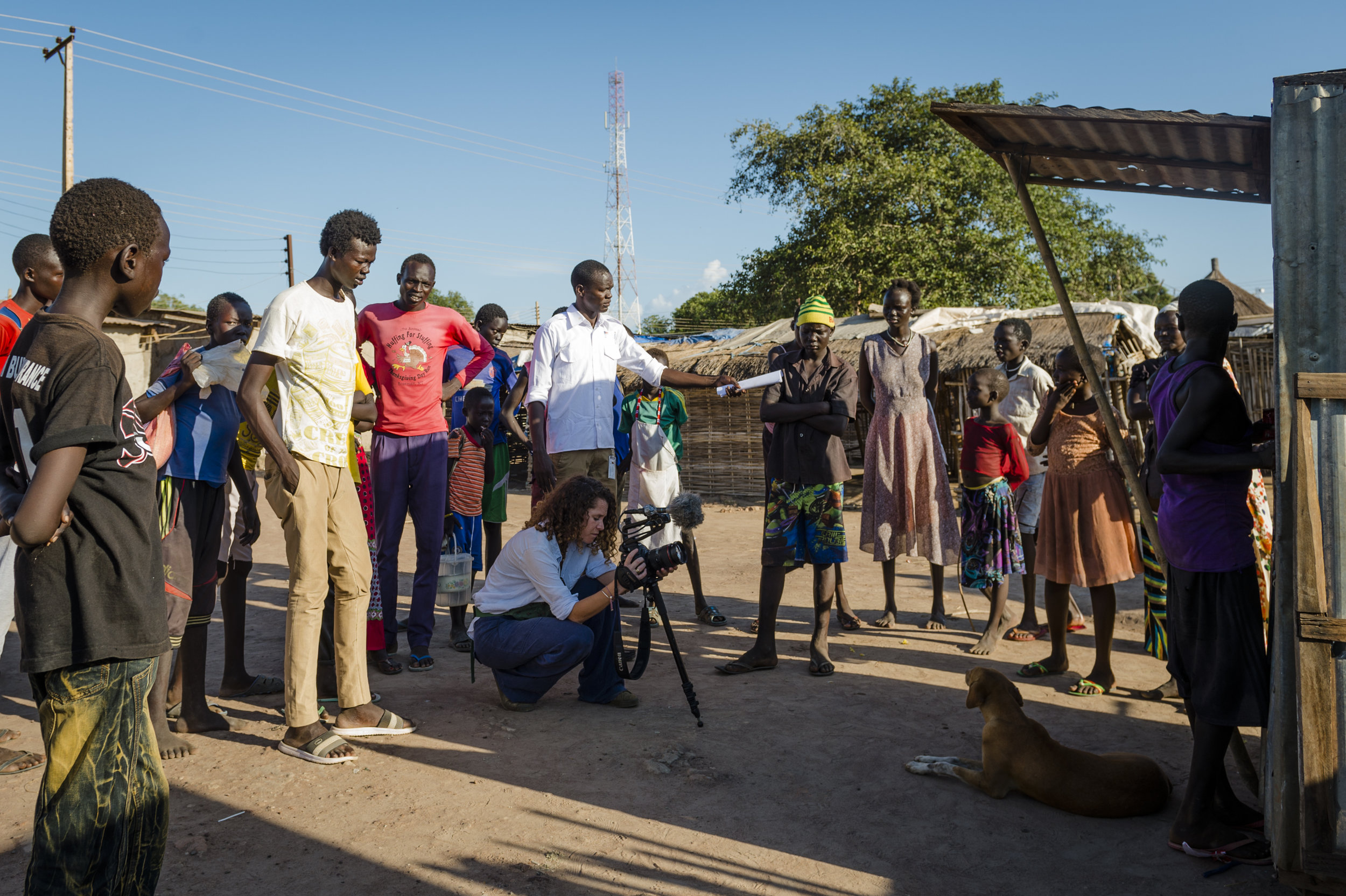 That's a wrap…! - Final day of filming in Rumbek documenting @MottMacDonald 'Water for Lakes' programme. Since 2013 720 boreholes & 20 water yards have been constructed or rehabilitated, providing sustainable access to safe drinking water for around 200,000 people in the Greater Lakes State of South Sudan.