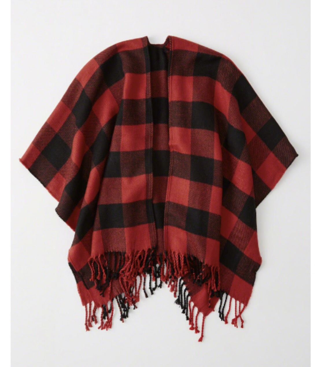 Buffalo Check Poncho.jpeg
