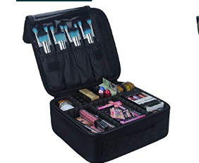 This is hands down the BEST makeup organizer EVER. I absolutely love. It is so easy to travel with and keeps all of my makeup organized and in place.