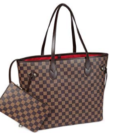 I am loving the Daisy Rose bags from Amazon. These are sold Louis Vuitton dupes. This is bag is around $50 and is SUCH great quality. Comes in brown (shown), black, and cream.