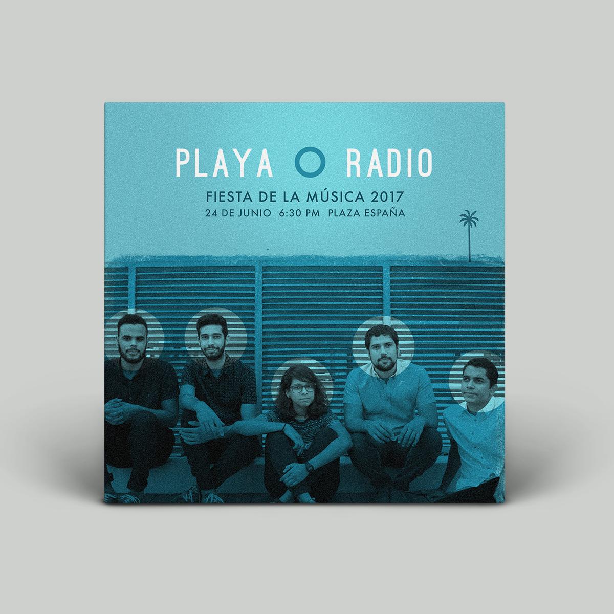 Flyer for Playa o Radio Concert in La Fete de la Musique