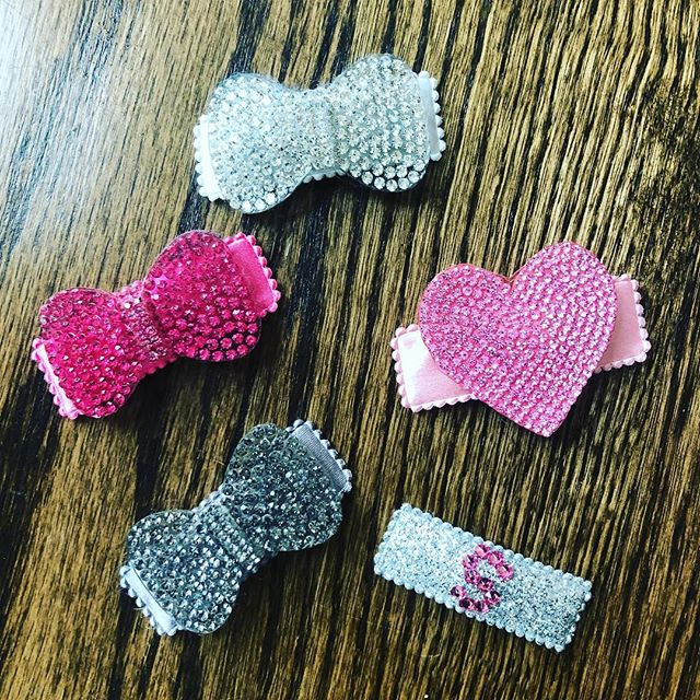 Restocking hair clips has never been more fun.  Are you stocked? PM us for pricing and bulk order specials. #yuppieBABY #ootd #accessorize #kidfashion