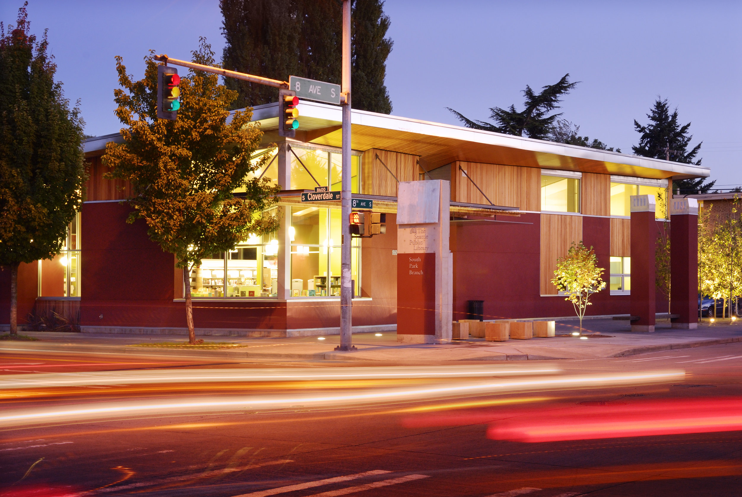 SOUTH PARK LIBRARY -