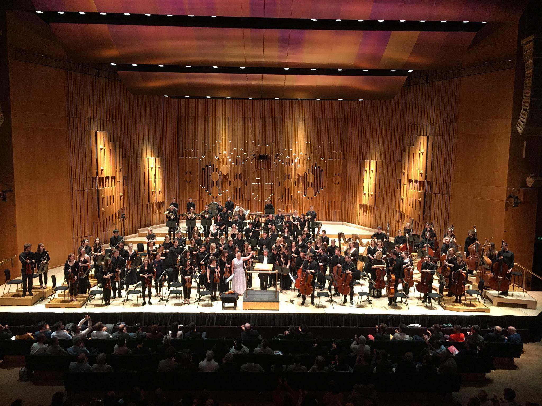 4a Sinfonia - Mahler com Guildhall Symphony Orchestra e Takuo Yuasa, Barbican Centre, 2018