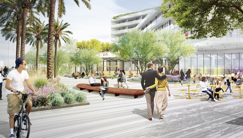 The Plaza at Santa Monica