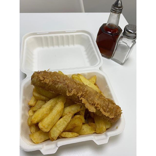 We Have Some Great Meal Deals Available For Lunch, Just £3.50 With a Can From 12-2 Monday to Saturday Eat In Or Takeaway.  Choose From -Battered Sausage -Plain Sausage -Saveloy -Homemade Cod Fishcake -Pea Fritter