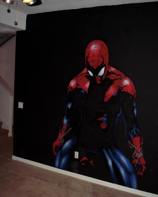 Spiderman Mural.JPG
