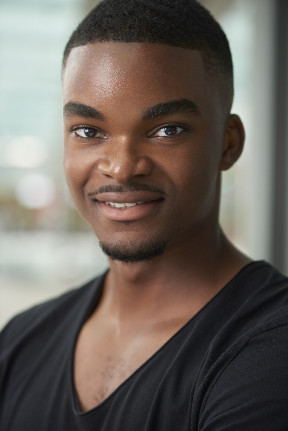 Headshot session on location with Michael-1