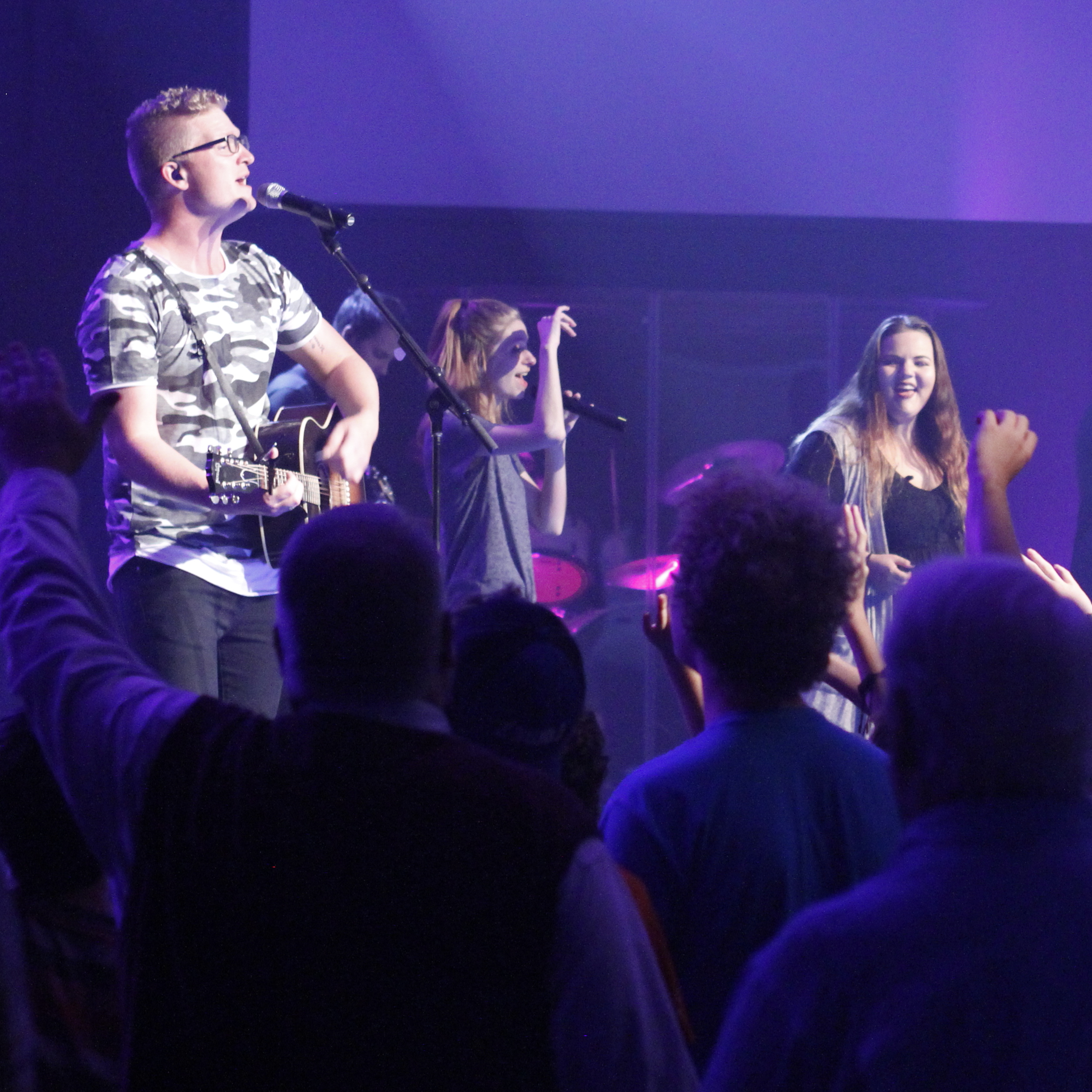 HOPE WORSHIP - Hope Worship is made up of worship leaders and musicians who serve faithfully in the church every weekend to see the vision of Hope Church come to life. Hope Worship strives to create music that elevates the name of Jesus, with excellence and energy!