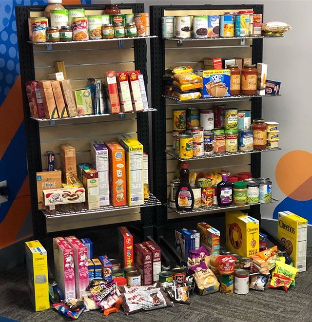 Blown away by the generosity of our PreK parents and children ♥️ Thank you all for making our first PreK food drive a success. I cannot wait to bless the Salvation Army this afternoon ♥️ #blessedpeopleblesspeople #hopekidsPreK