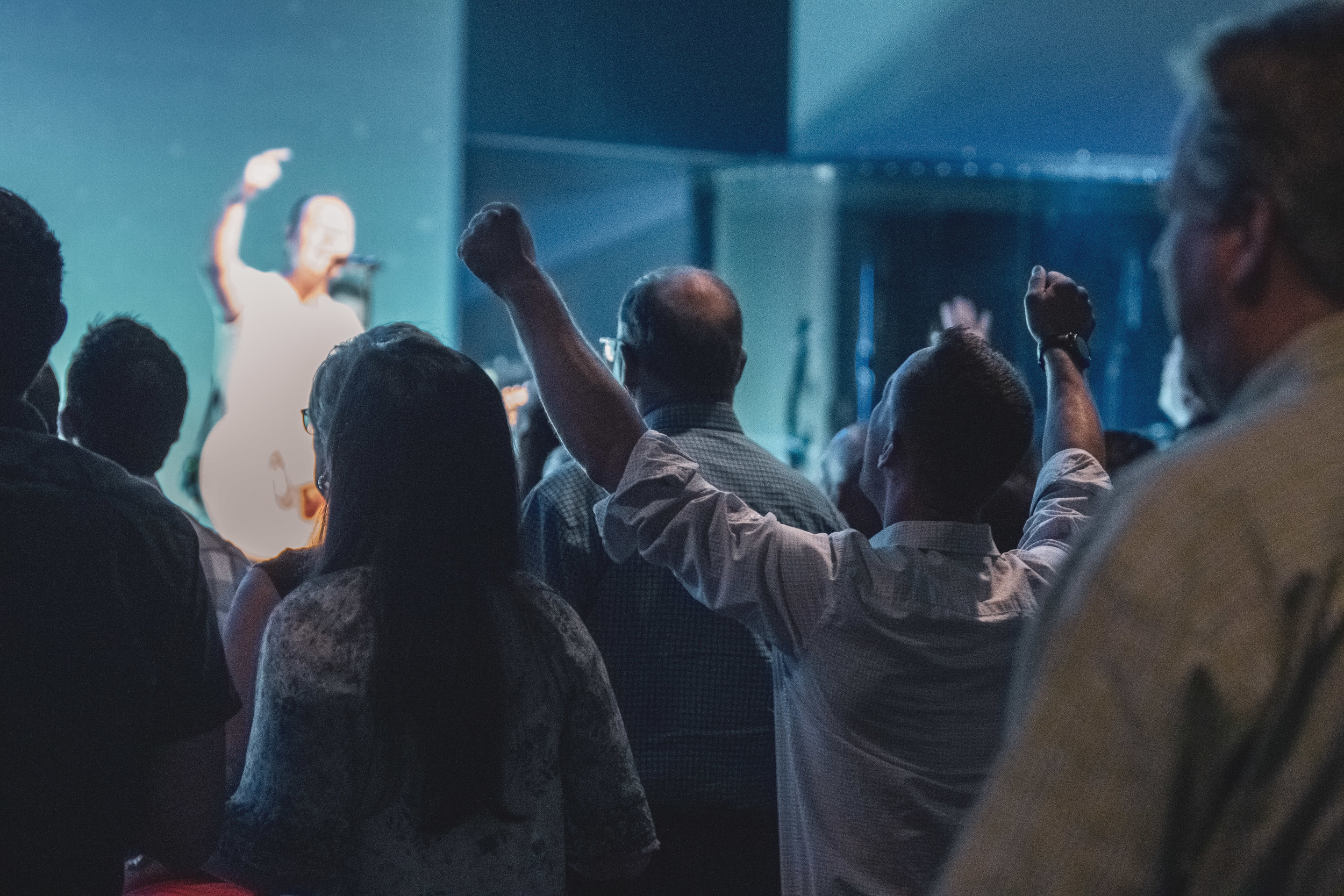 Worship in services. - We gather for unashamed worship of God, believing that he deserves our highest praise and we need his transforming truth.