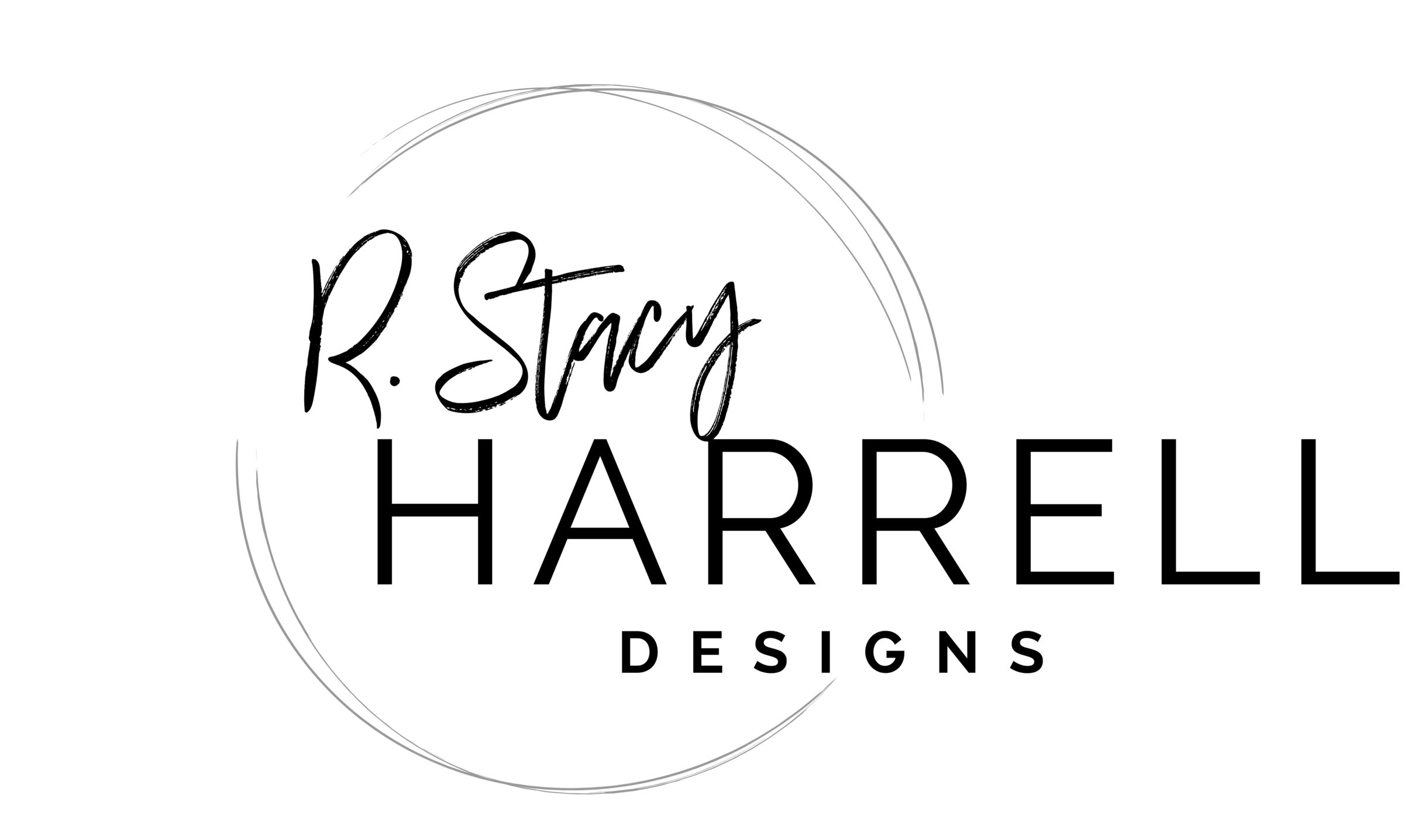 R. Stacy Harrell Designs logo refresh