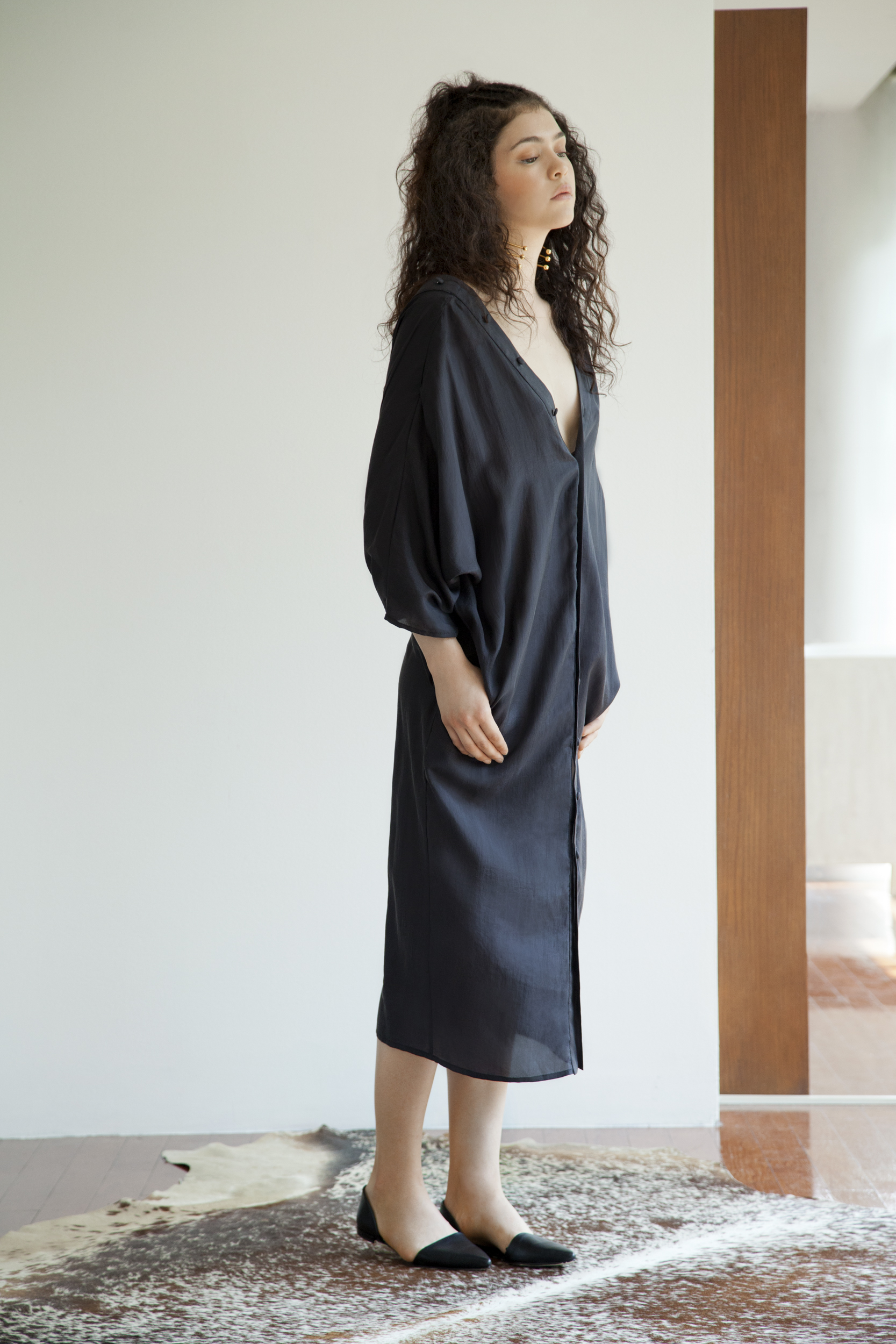 KAZUKO DRESS- BLACK SILK SHIRT DRESS.jpg
