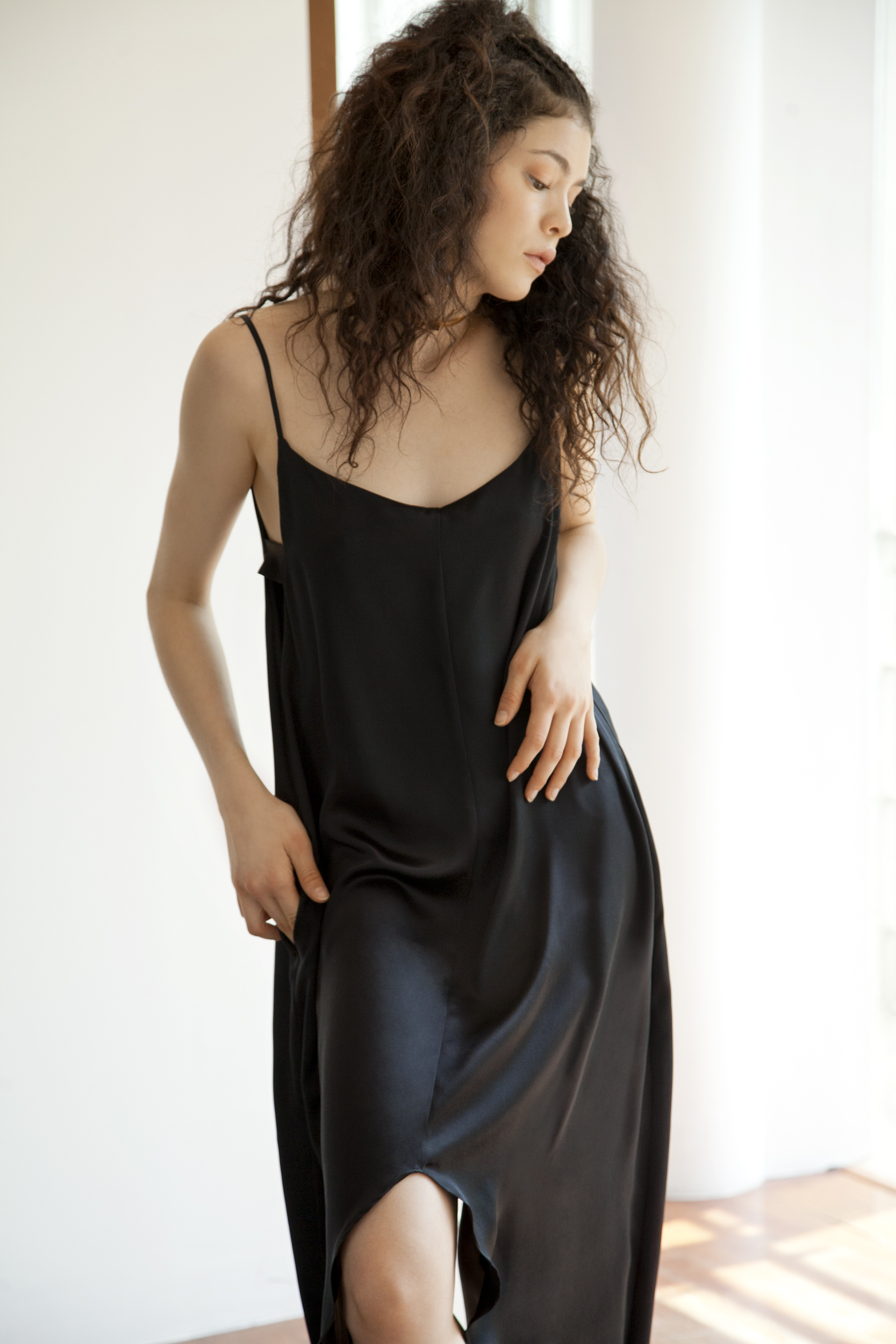 MIZUKI DRESS- BLACK SILK SLIPDRESS.jpg