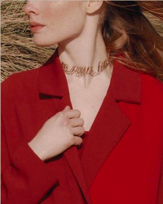 De Coss , Coat and necklace