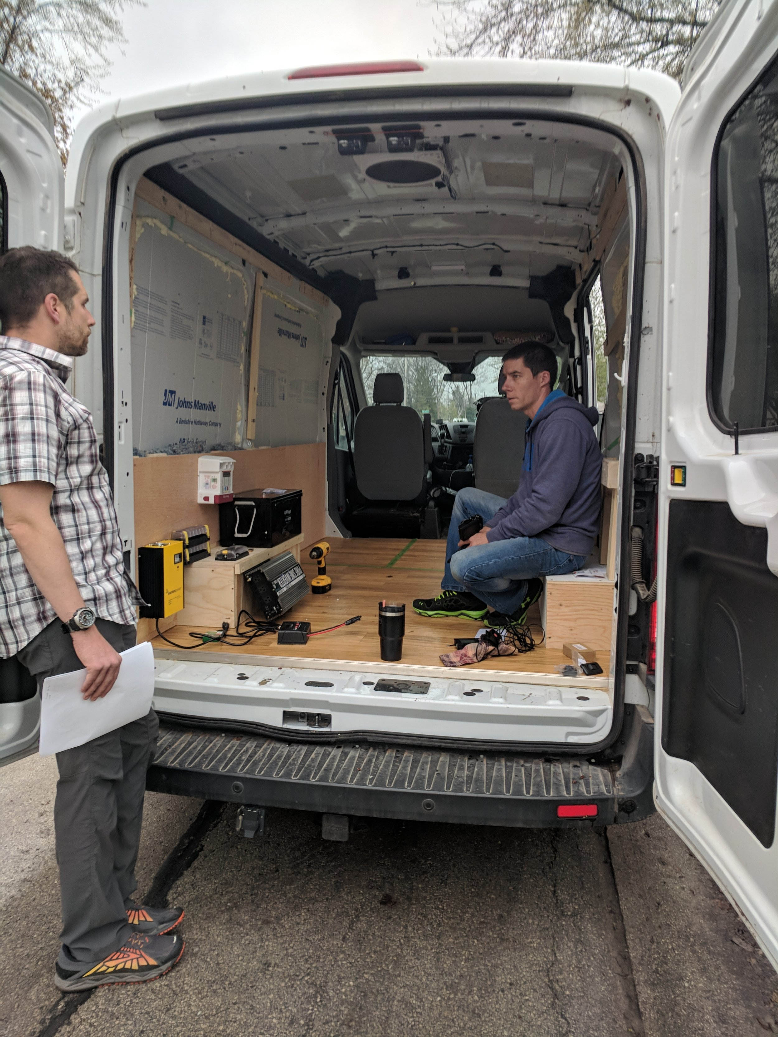 Initial Conversion Van Electrical Planning