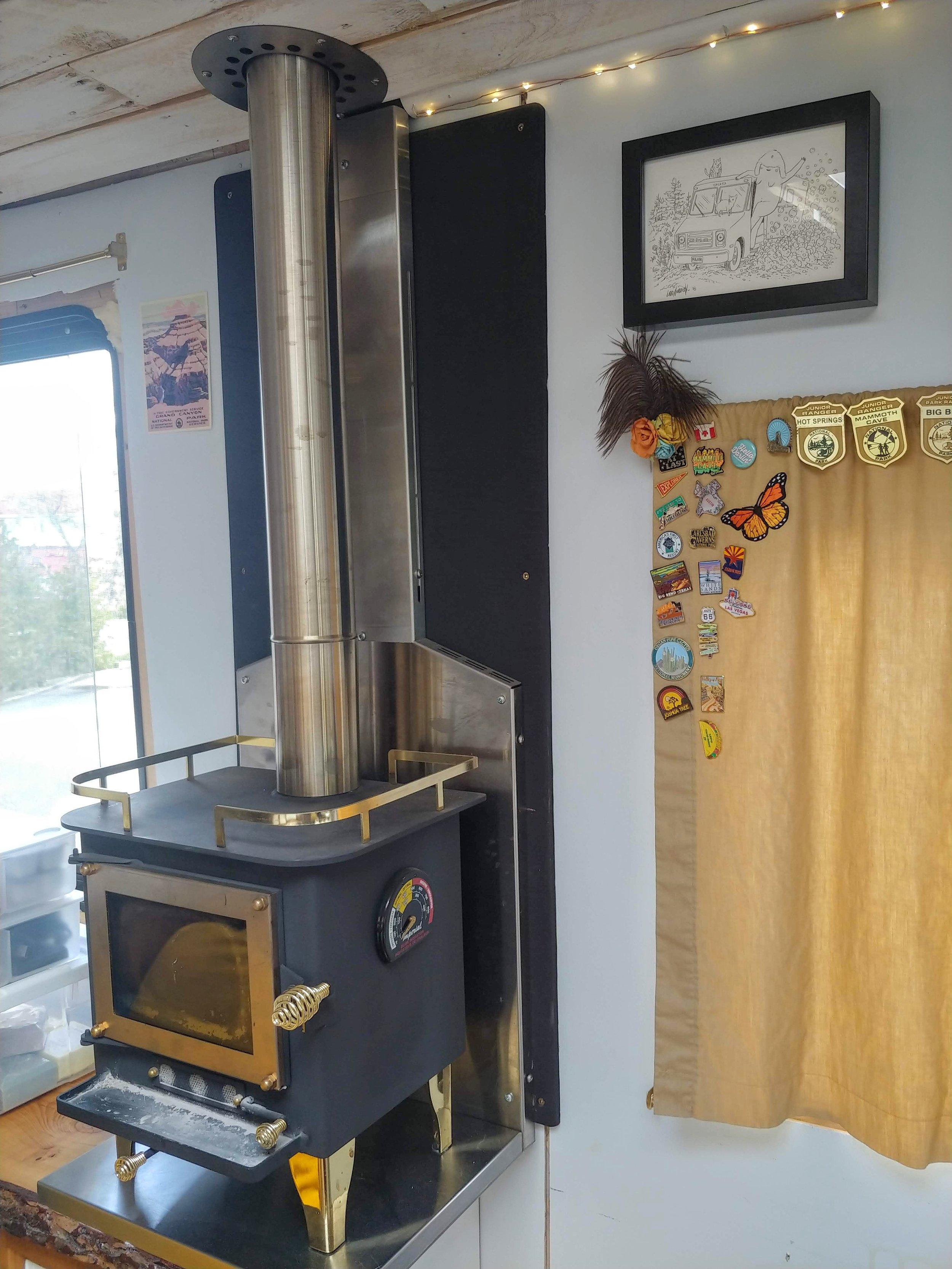 #vanlife Cubic Mini Install in a DIY camper van