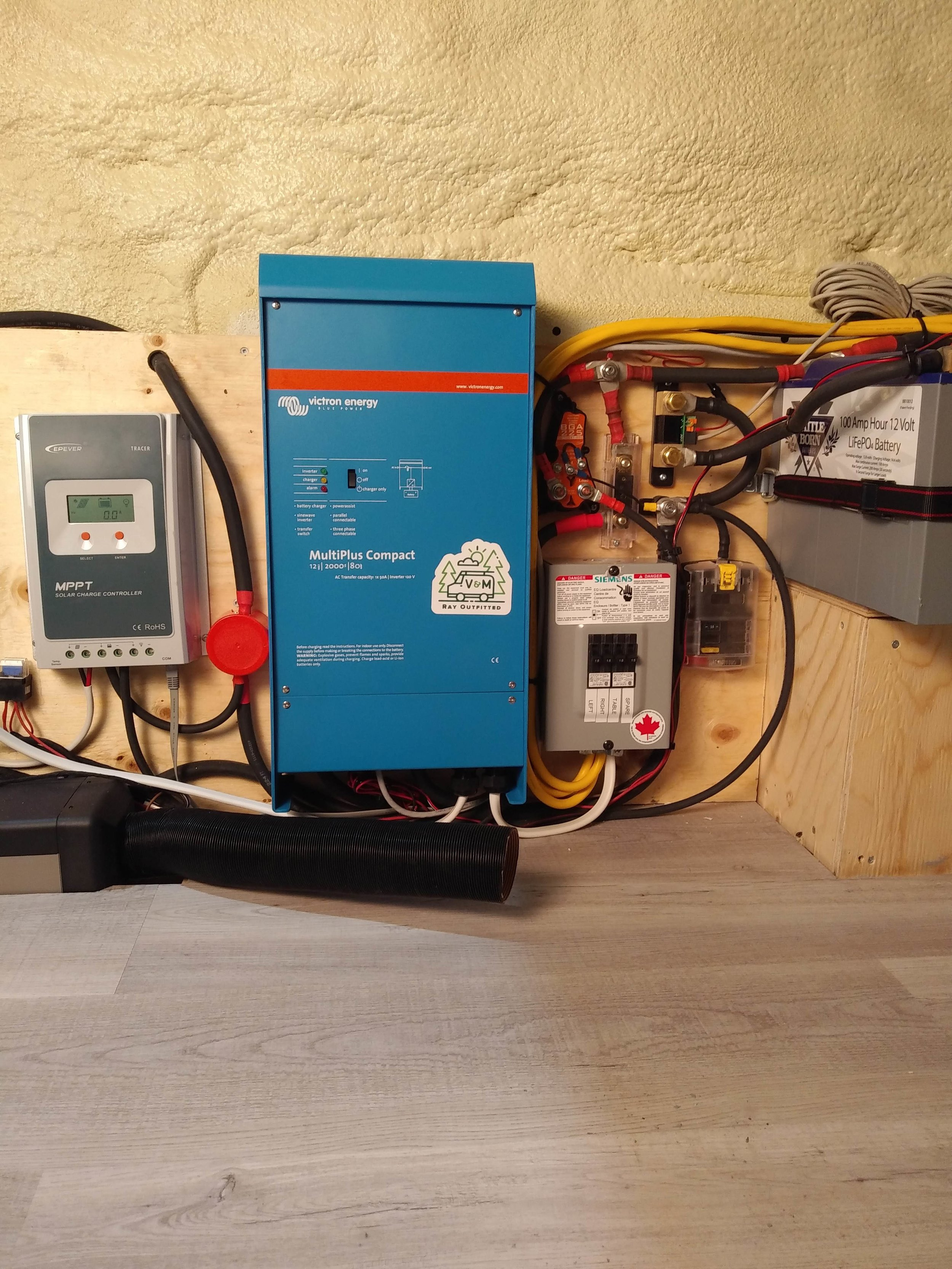 Heater, Solar & Electrical Install