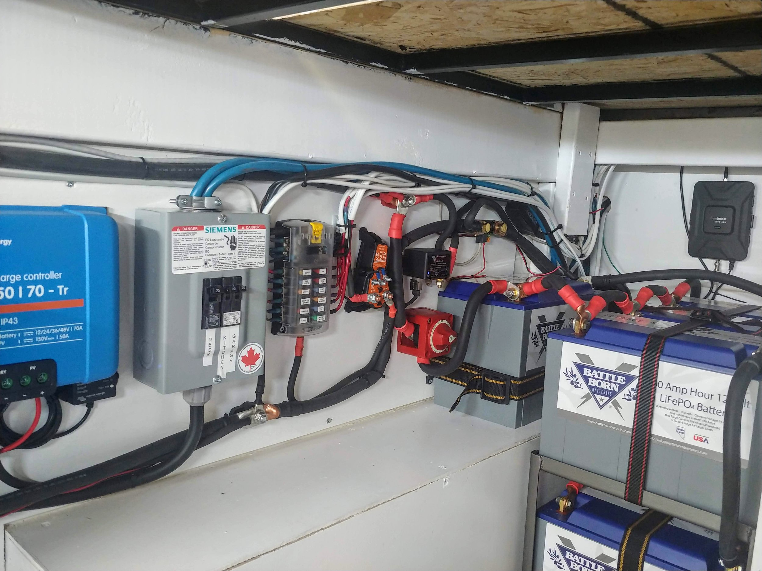 Lithium Electrical Installation