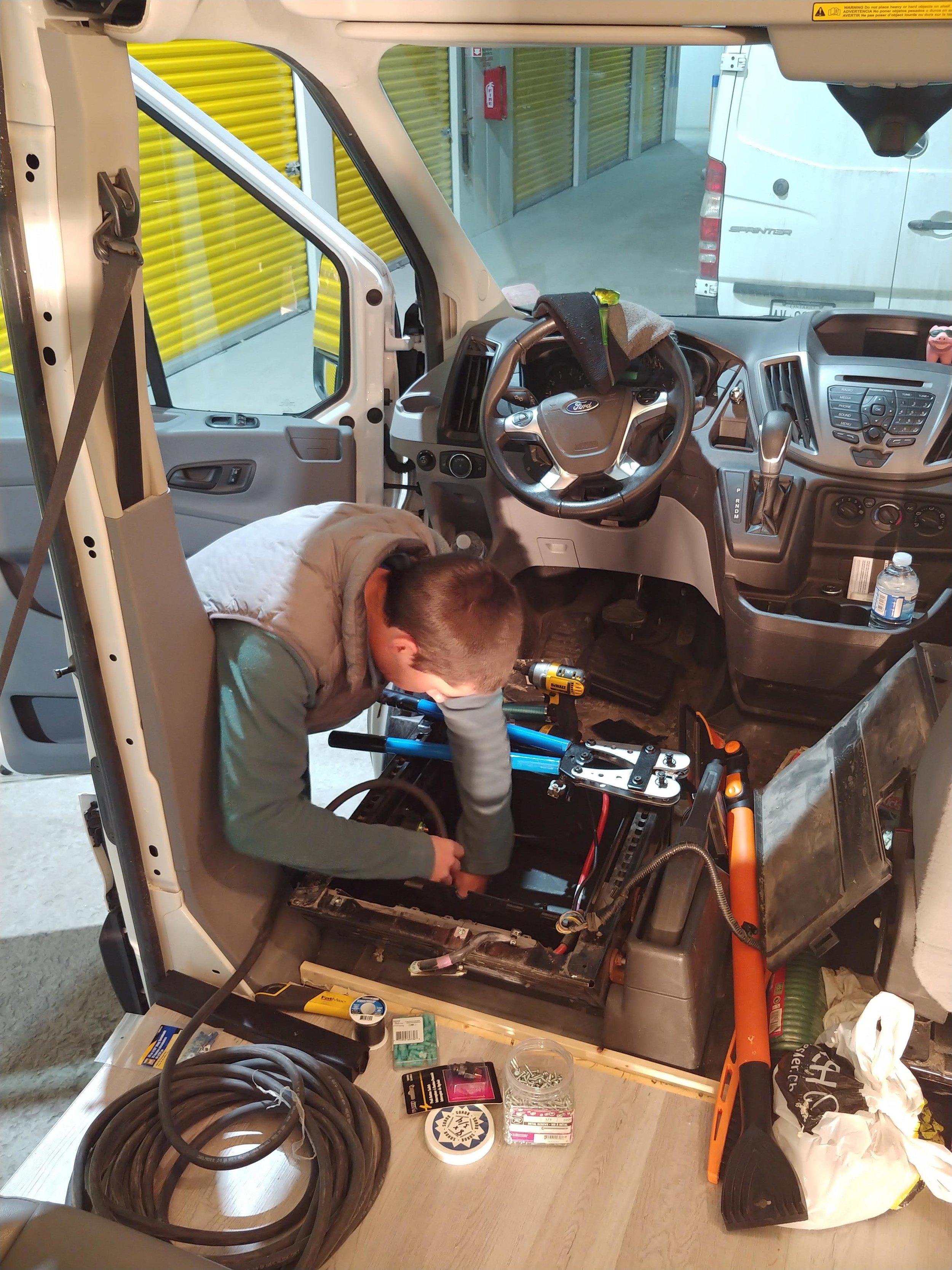 Ford Transit ACR Wiring