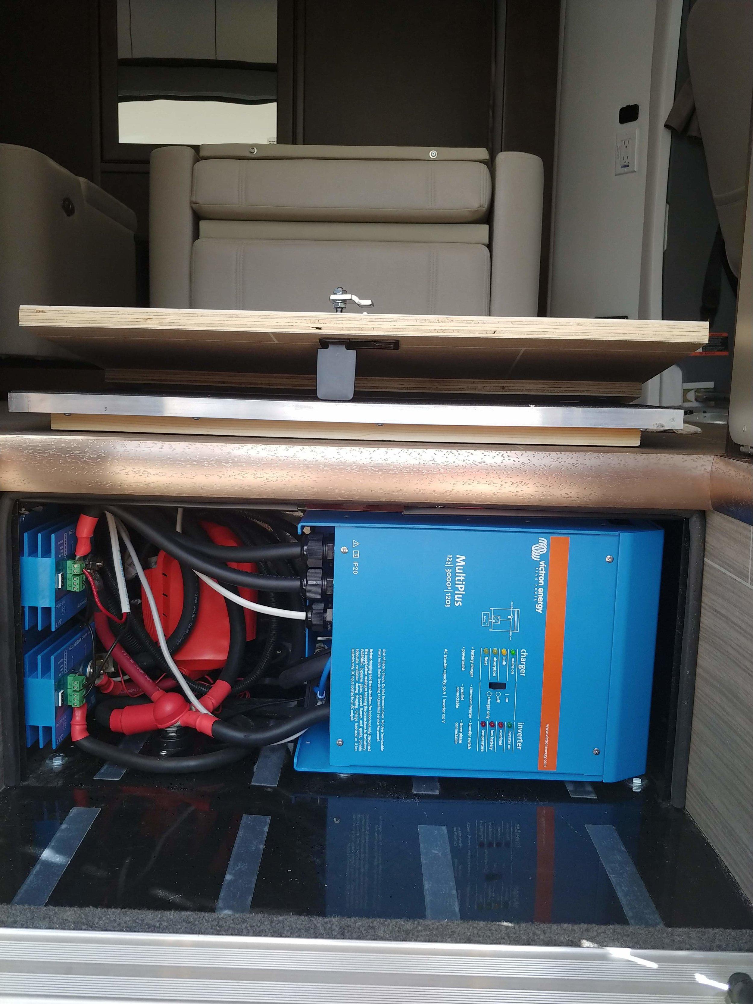 RV Shore Power Simulation & Inverter Upgrade