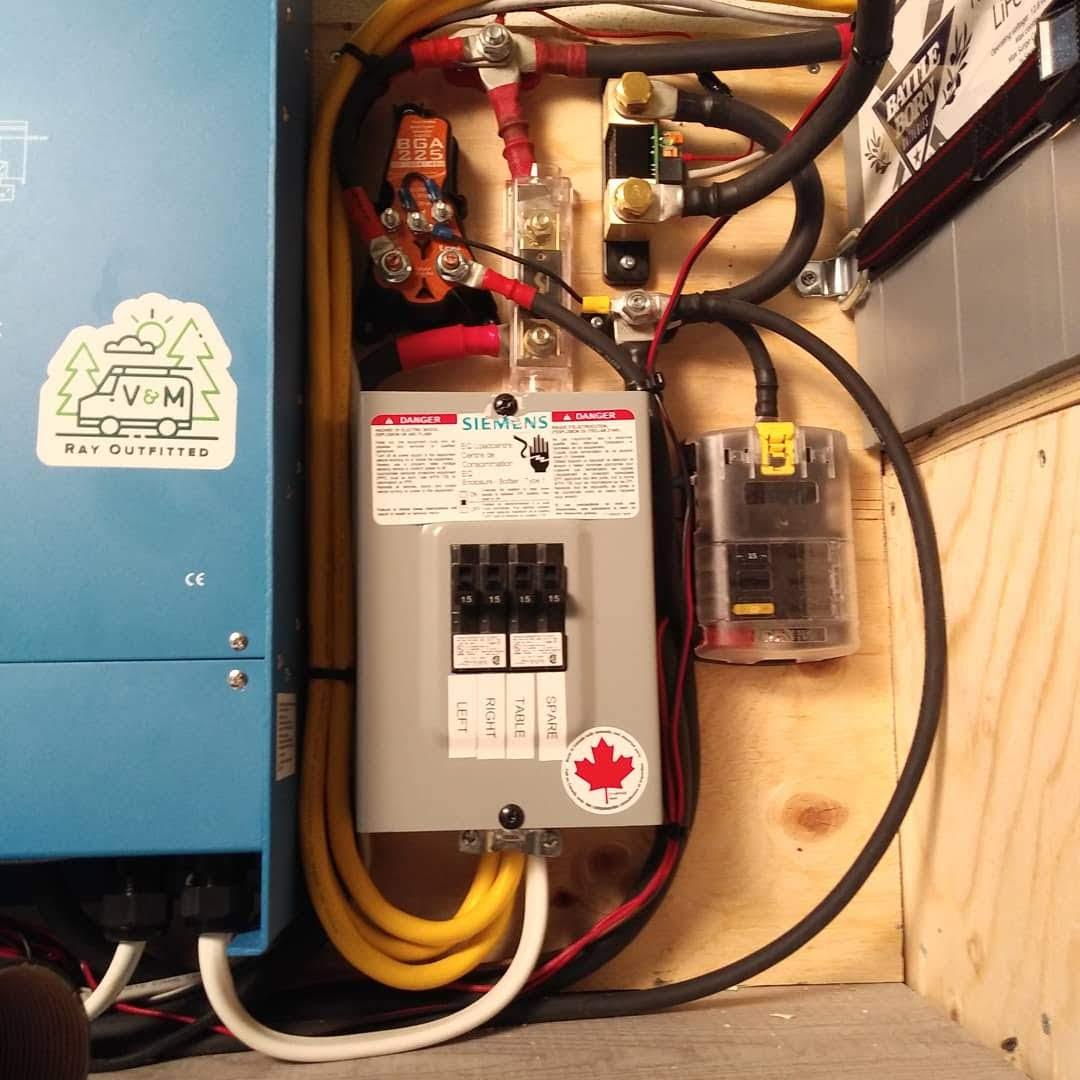 120V Off Grid Electrical