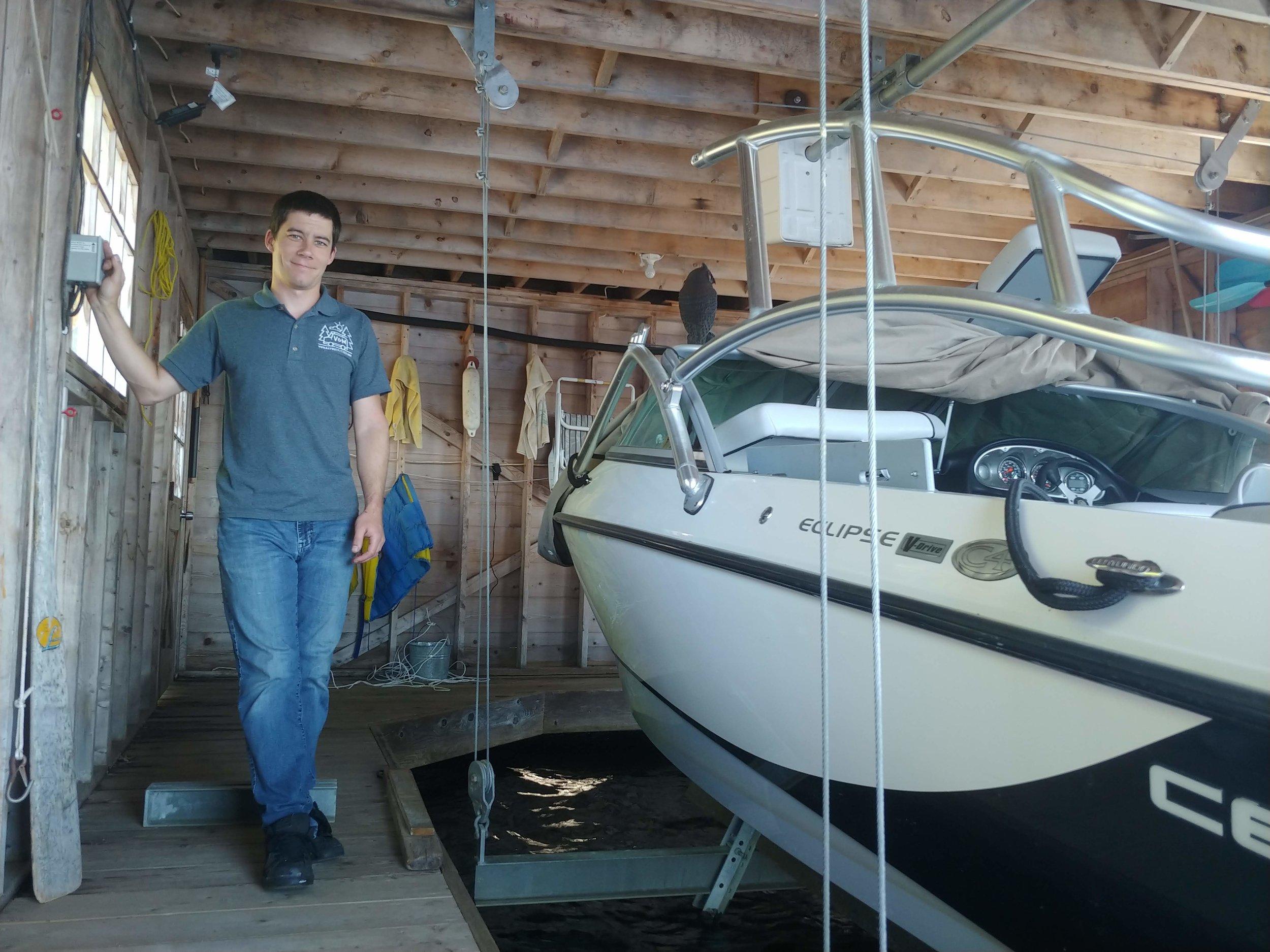 Winterize/Summerize - In Boathouse