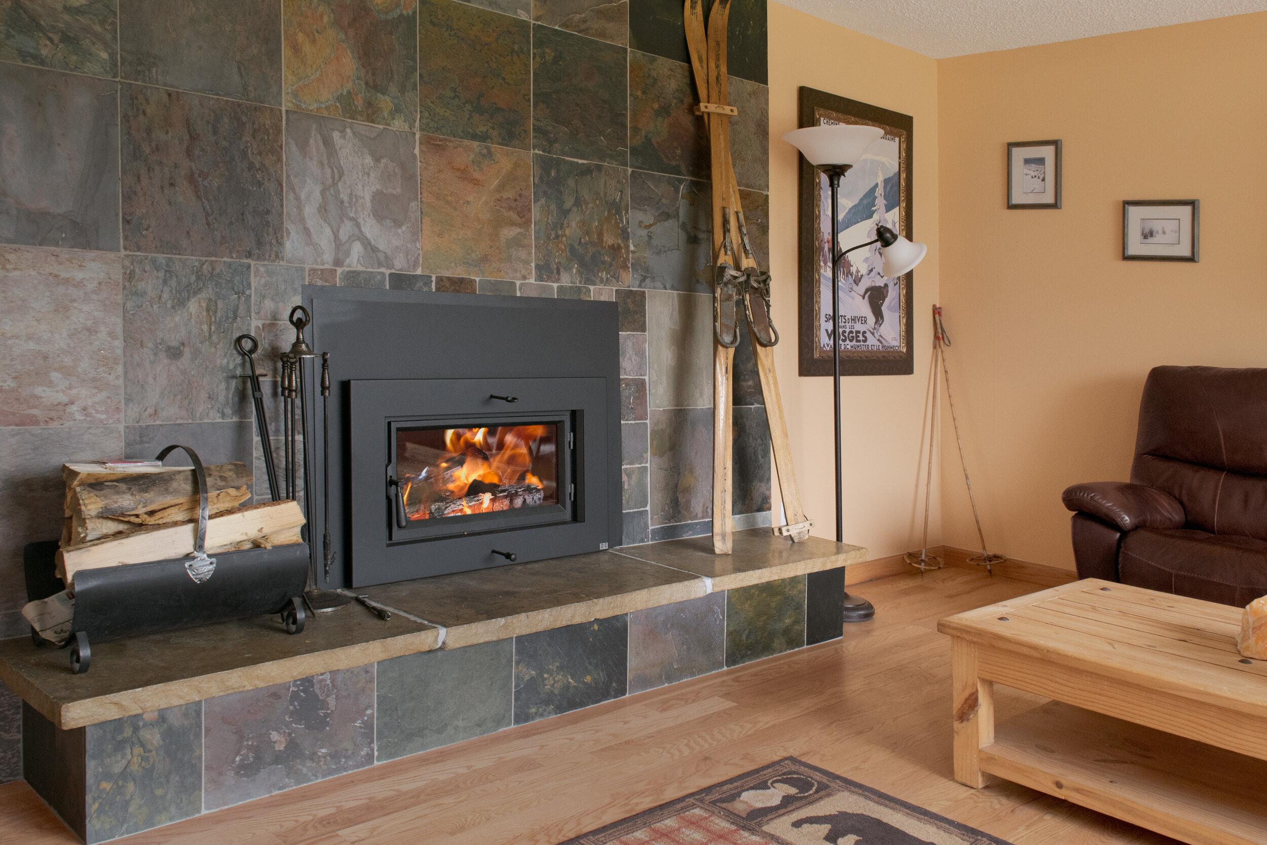 FireplaceX Flush Wood Medium
