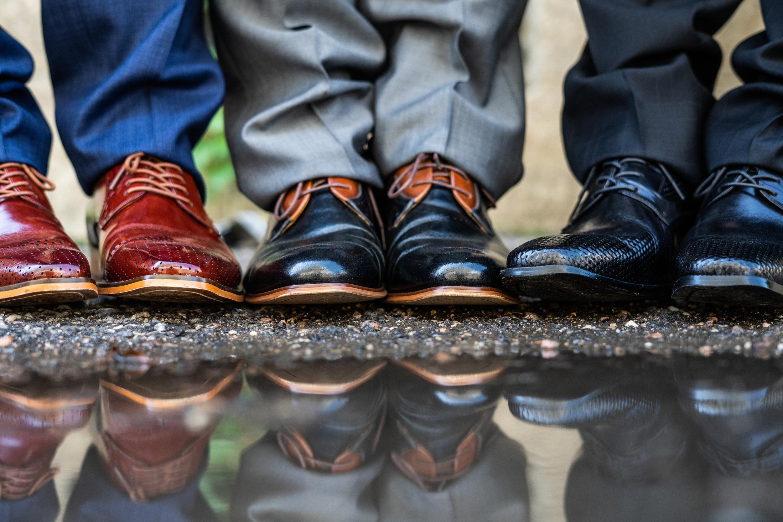 Shoes make an outfit; they're like rims for a car. Omari Hardwick