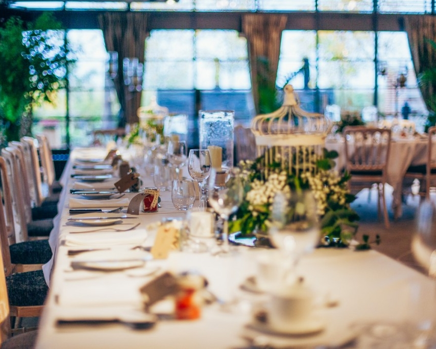 AnotherDay Events Wedding Table Setting