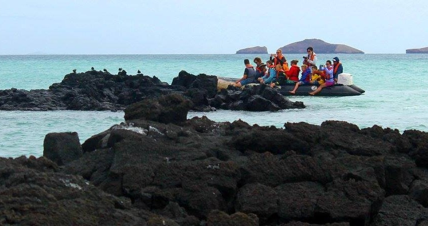 2011 Alumni Zoe Wagoner Touring in the Galapagos