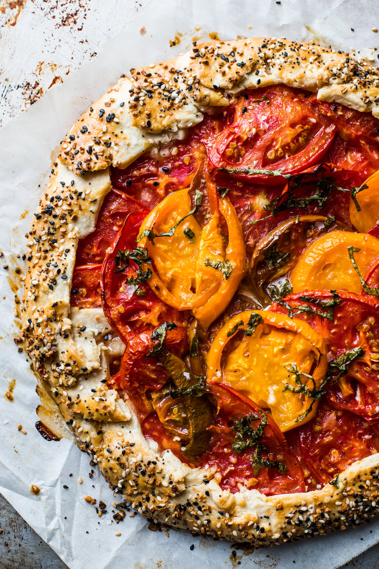 make ahead camping meals tomato tart