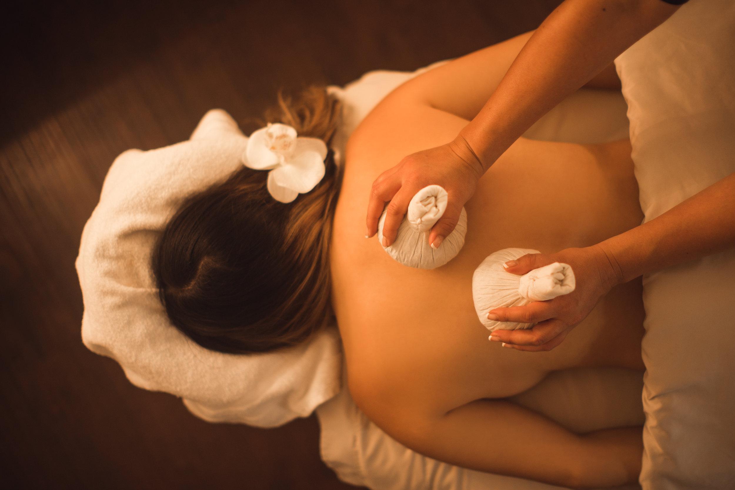 NEW Herbal Thai Ball Massage!