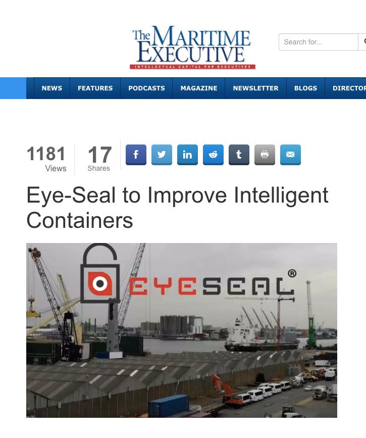 Maritime Executive Article
