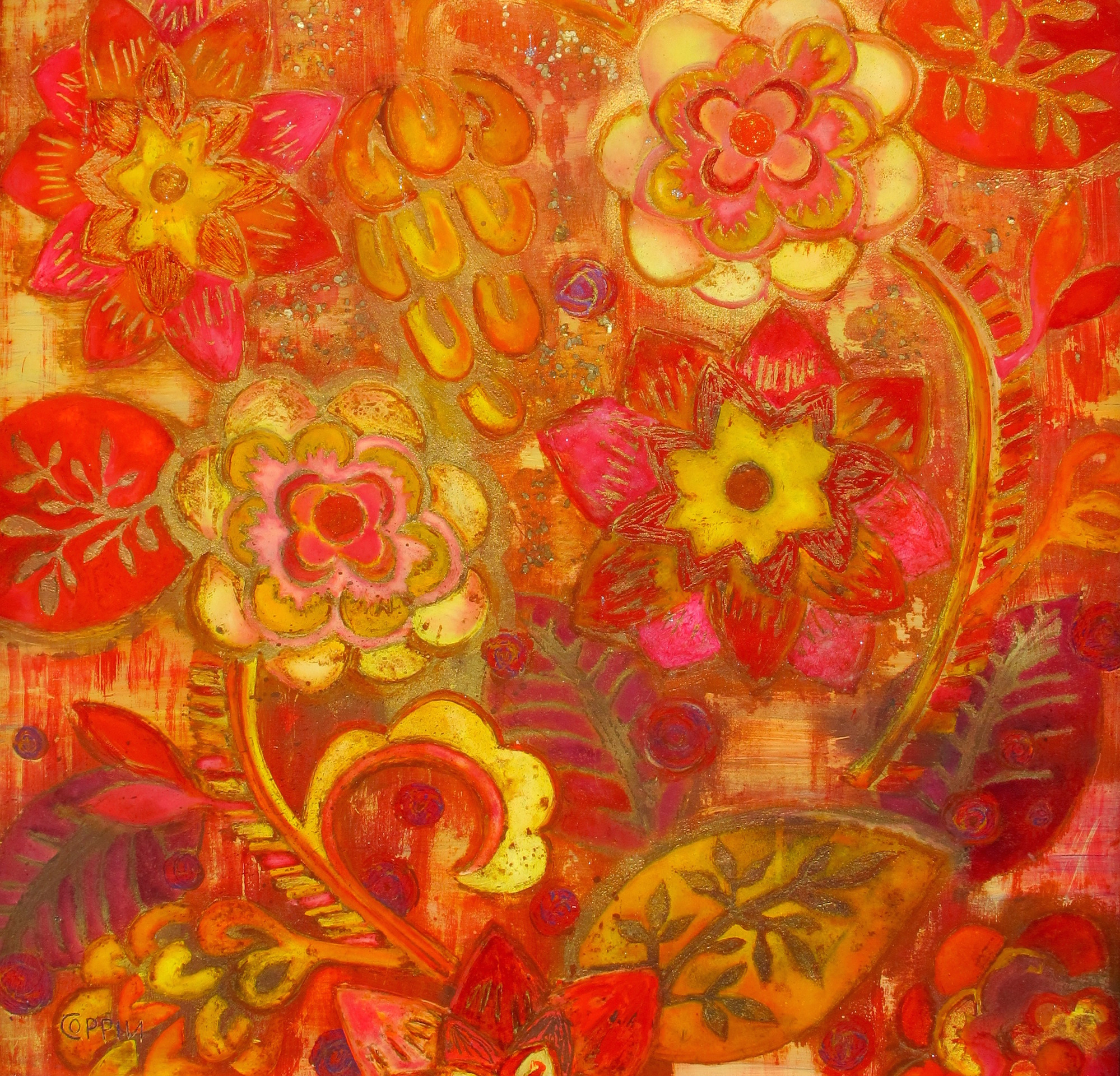 flower tapestry III - 26
