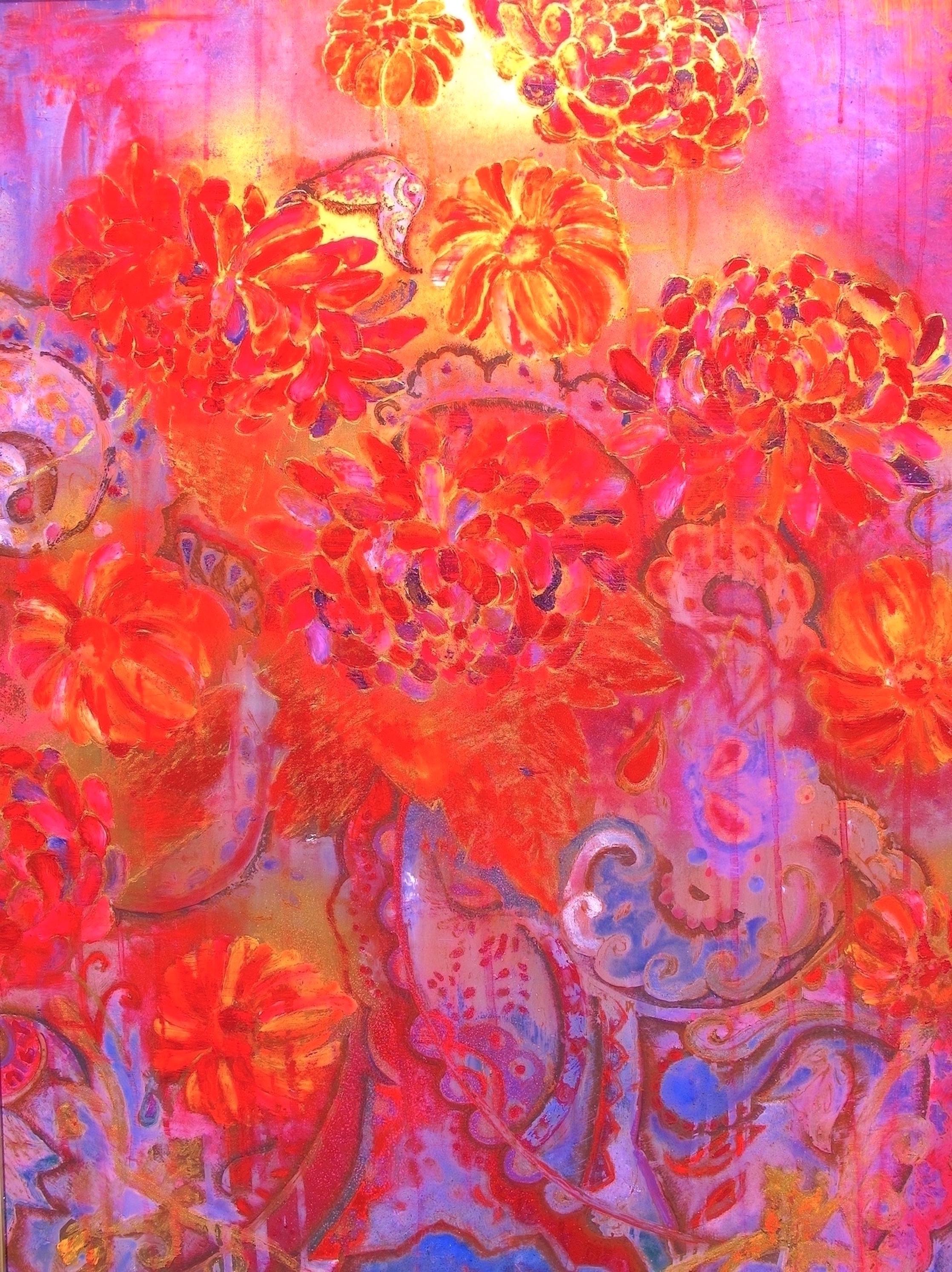 flower tapestry IV - 22