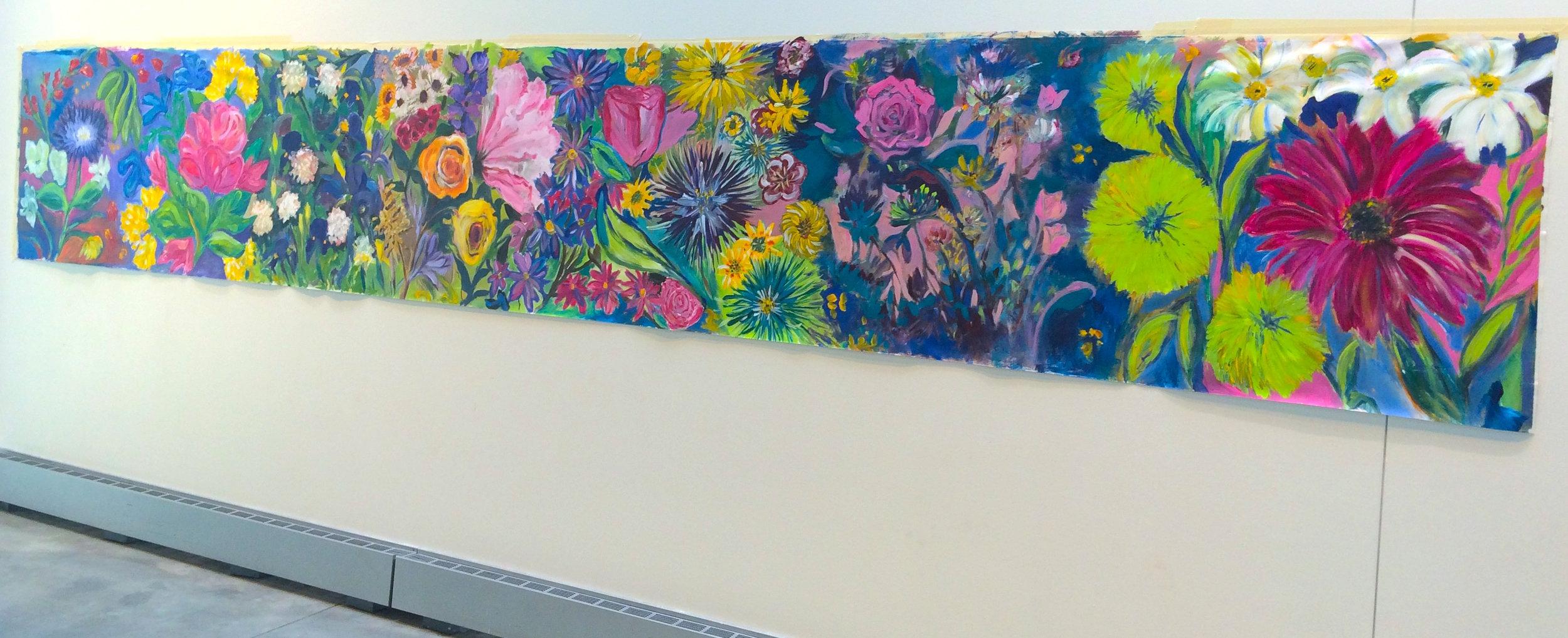 MCFTA flower mural I -