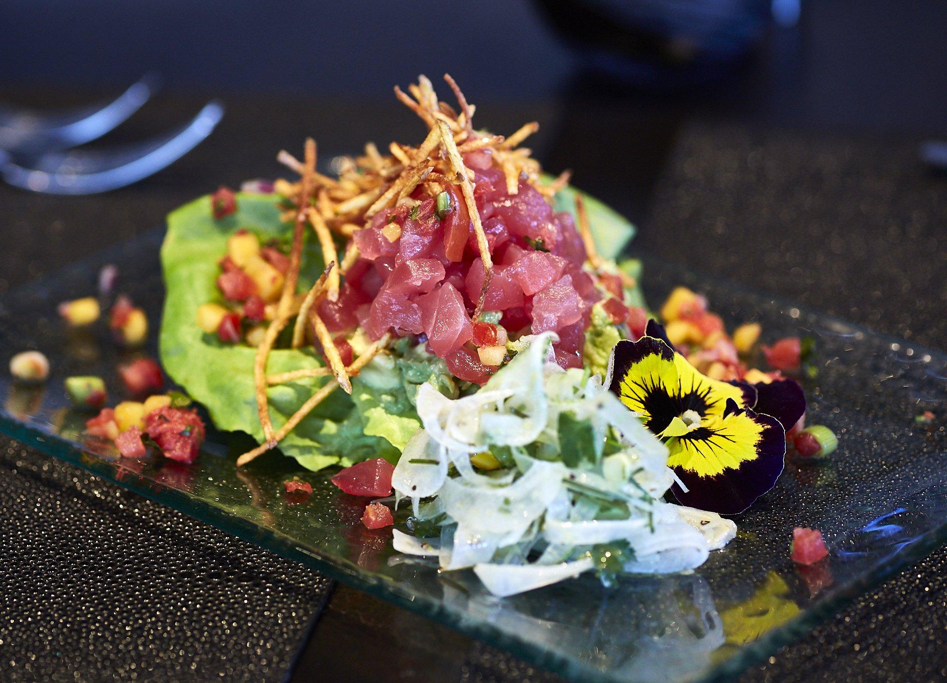 Atun Ceviche; photo courtesy of mariposasedona.com