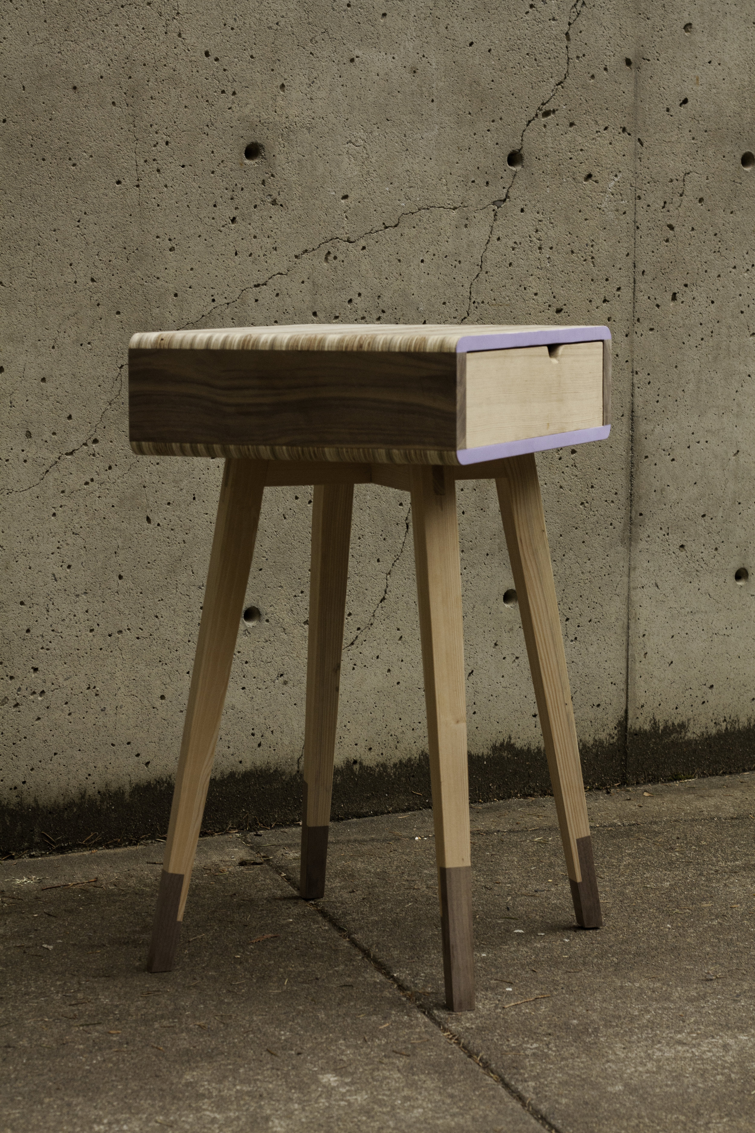 Sabot End Table -
